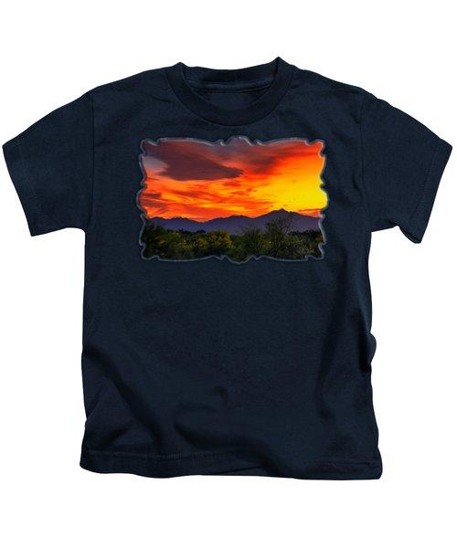 Valley Sunset H32 Kids T-Shirt