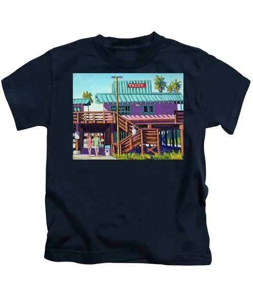 Ventura Pier - Tacos Kids T-Shirt
