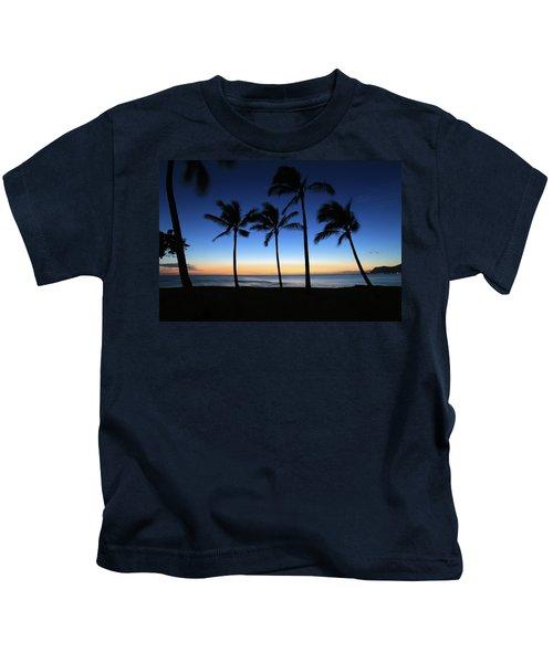 Venus At Sunset Kids T-Shirt