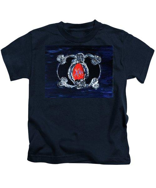 Vesica Black Suns Kids T-Shirt