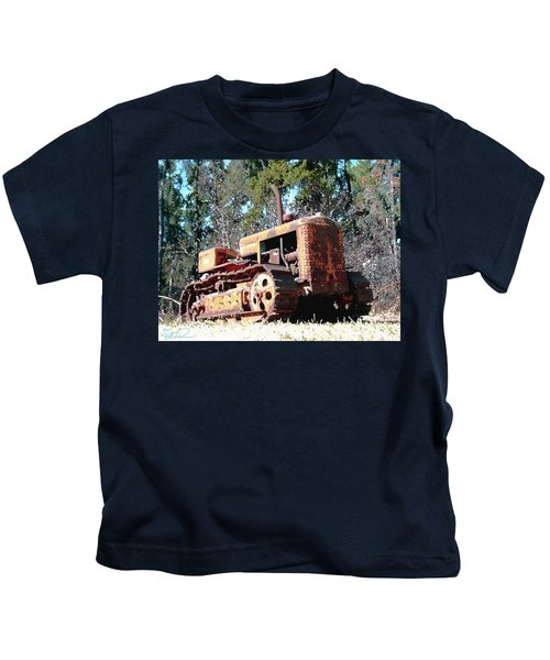 Vintage Caterpillar Kids T-Shirt