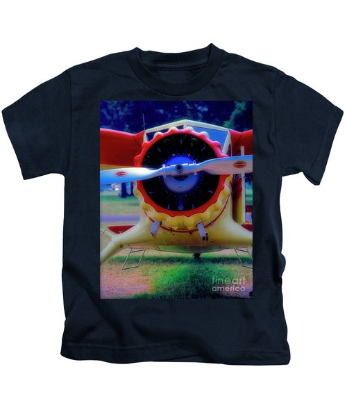 Vintage Stinson  Kids T-Shirt