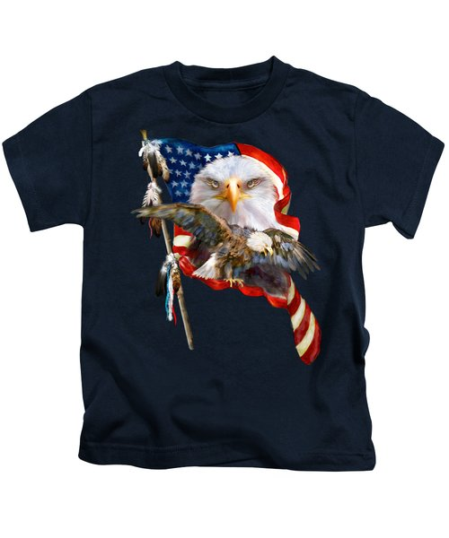 Vision Of Freedom Kids T-Shirt