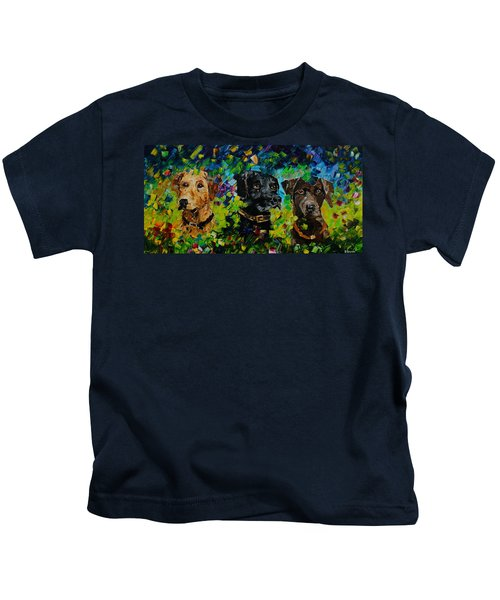 Waiting To Hunt Kids T-Shirt