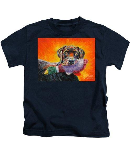 Wannabe Retriever Great Dane Kids T-Shirt