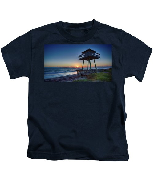 Watch Tower Sunrise 2 Kids T-Shirt