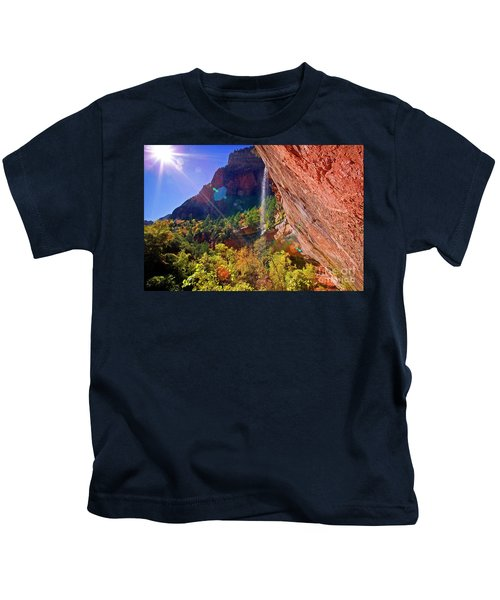 Waterfall Kids T-Shirt