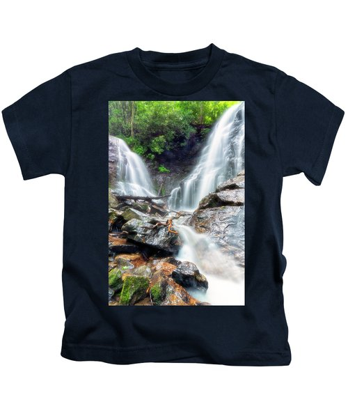 Waterfall Silence Kids T-Shirt
