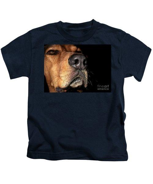 Wet Dog Nose Kids T-Shirt