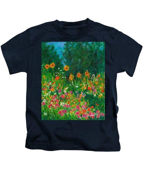 Wildflower Rush Kids T-Shirt