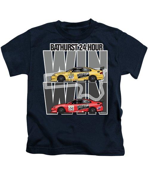 Win Win Holden Monaro Cv8 427c Bathurst 24 Hours Winners 2002 And 2003 Kids T-Shirt