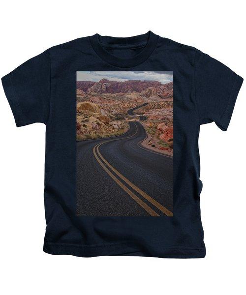 Winding Road Kids T-Shirt