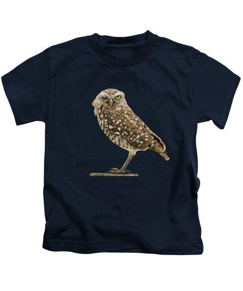 Winking Owl Kids T-Shirt