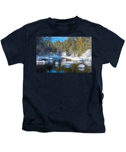 Winter Blues Kids T-Shirt