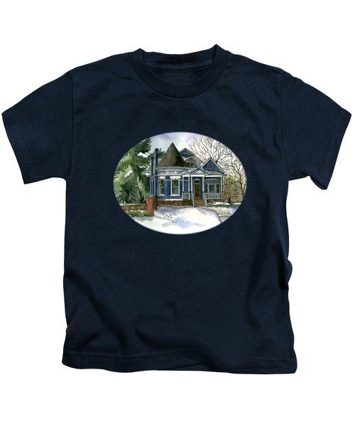 Winter Blues Kids T-Shirt