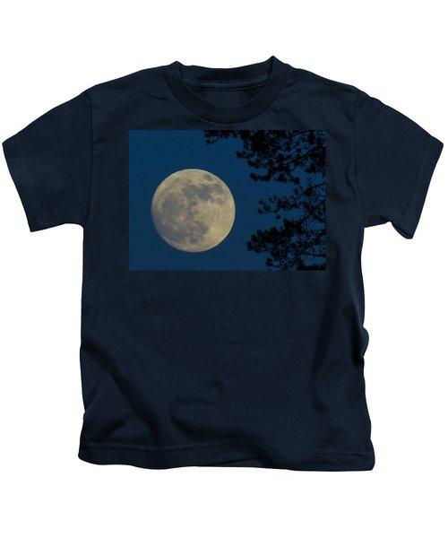Winter Moon Kids T-Shirt