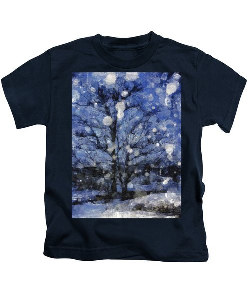 Winter Storm Kids T-Shirt