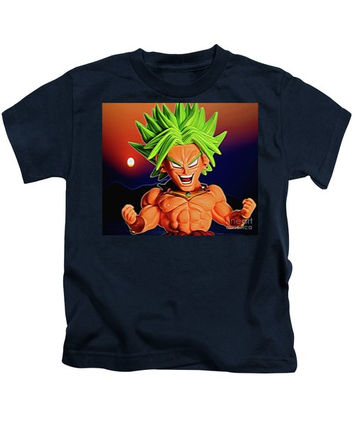 Sunset Ss Broly Kids T-Shirt