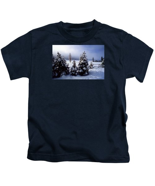 Winter Takes All Kids T-Shirt