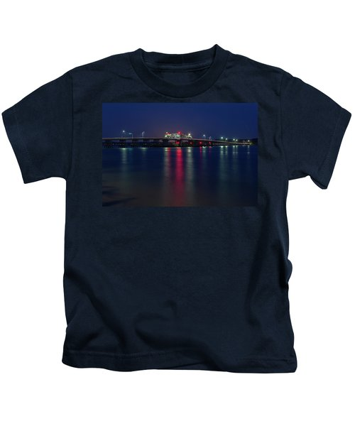 Woods Memorial Bridge Kids T-Shirt