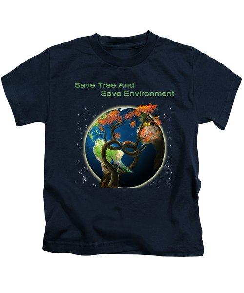 World Needs Tree Kids T-Shirt