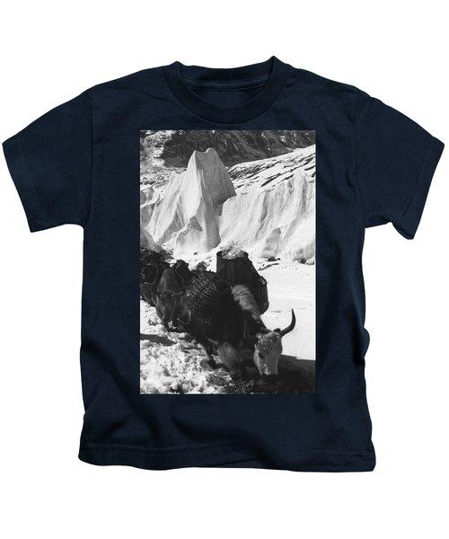 Yak And Serac Kids T-Shirt