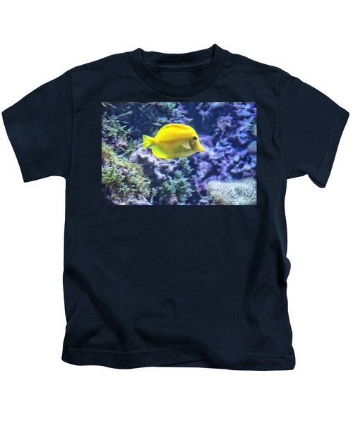 Yellow Tang Kids T-Shirt