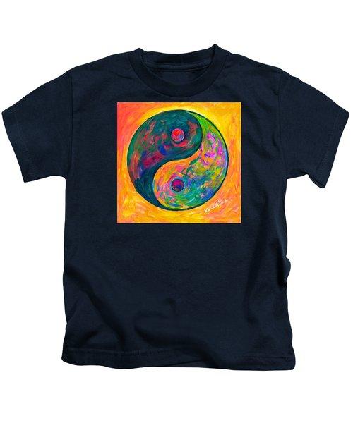 Yin Yang Flow Kids T-Shirt