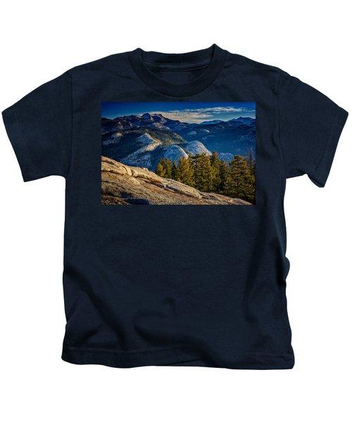 Yosemite Morning Kids T-Shirt by Rick Berk