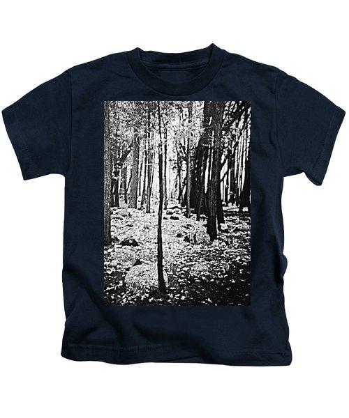 Yosemite National Park Kids T-Shirt by Debra Lynch