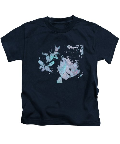 You'll See - Blue Kids T-Shirt by Marco Paludet