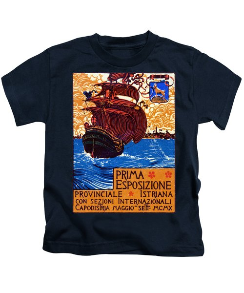 1910 Istria International Expo Kids T-Shirt