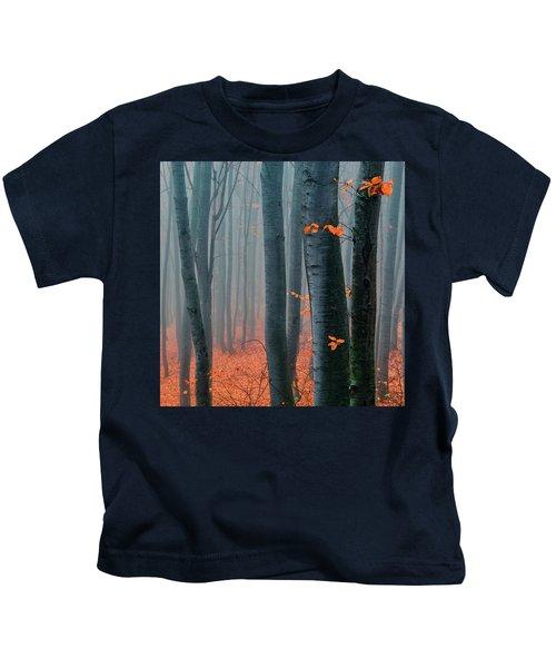 Orange Wood Kids T-Shirt