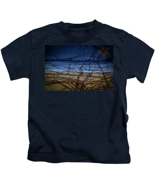 Abstract Landscape Kids T-Shirt