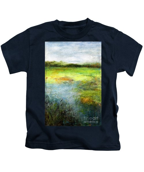 August Of Another Summer Kids T-Shirt
