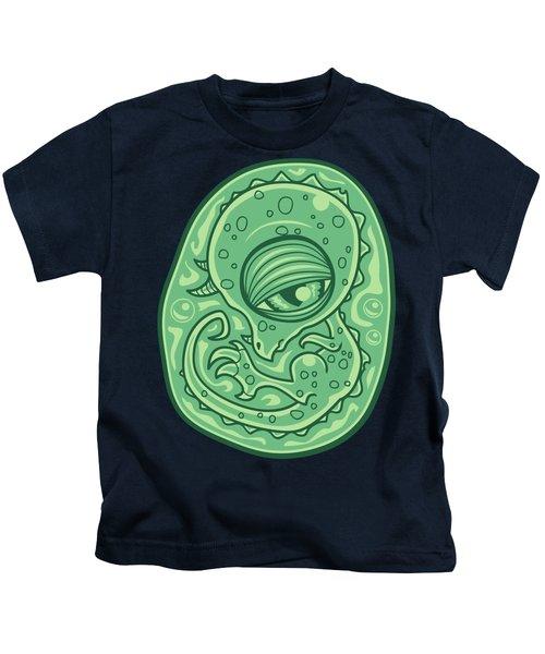 Baby Dinosaur Embryo Kids T-Shirt