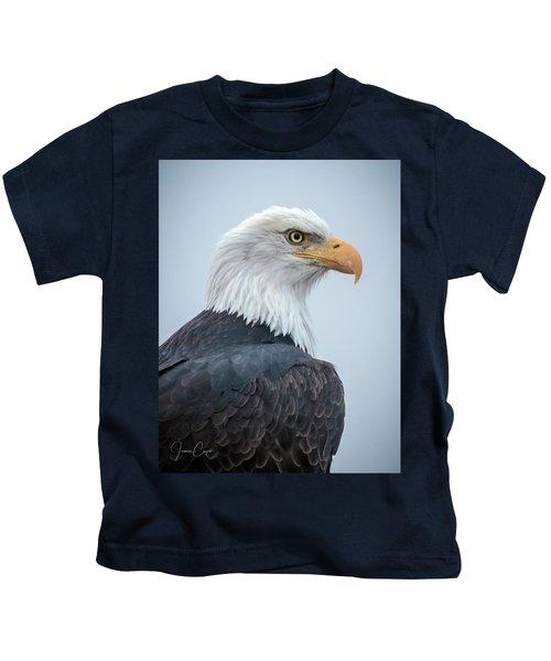 Bald Eagle Profile Kids T-Shirt