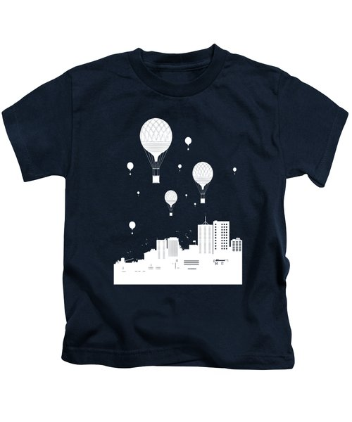 Balloons And The City Kids T-Shirt