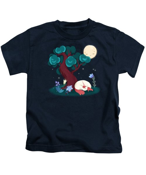 Bedtime Sweet Dreams For All Magical Creatures Kids T-Shirt
