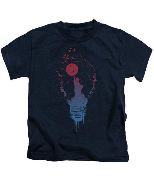 Big City Lights Kids T-Shirt