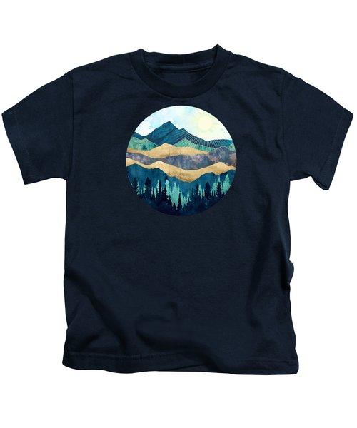 Blue Forest Kids T-Shirt