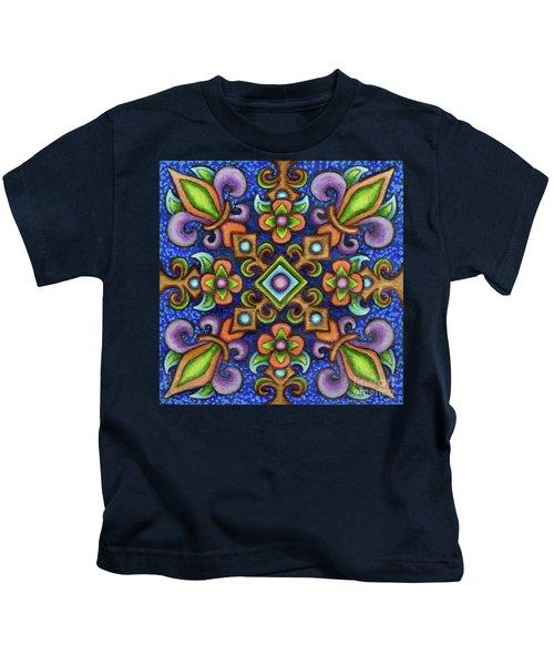Botanical Mandala 3 Kids T-Shirt