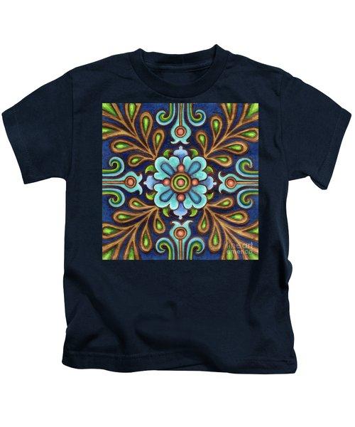 Botanical Mandala 9 Kids T-Shirt