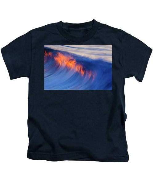 Burning Wave Kids T-Shirt