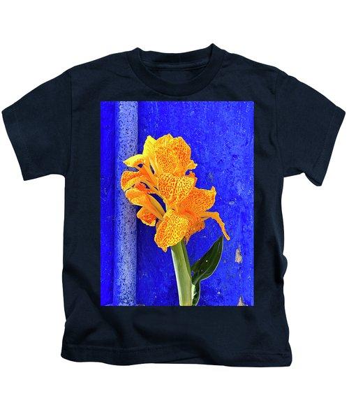 Canna Azure Kids T-Shirt