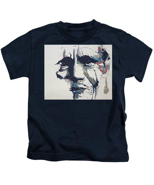 Chet Baker - Abstract  Kids T-Shirt
