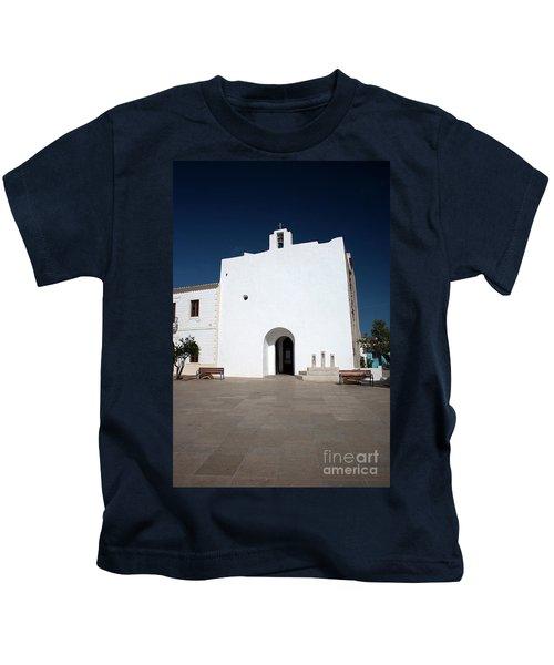 Church Of Sant Francesc Xavier, Formentara Kids T-Shirt