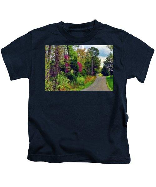 Country Road Take Me Home Kids T-Shirt