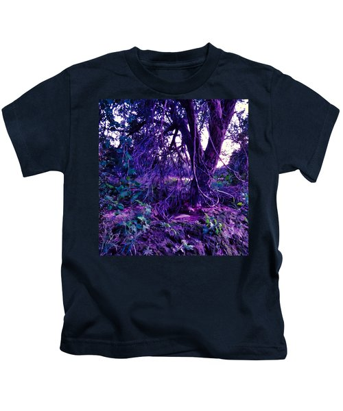 Kids T-Shirt featuring the photograph Dreamy Desert Wash  by Judy Kennedy