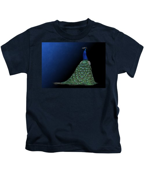 Dressed To Party - Male Peacock Kids T-Shirt